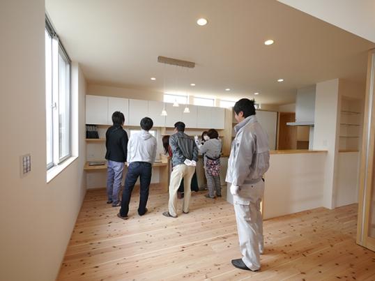 オープンハウス:「冬の寒さ・夏の暑さに対応した家」3