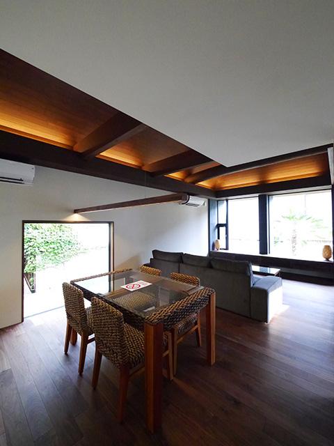 アジアンな雰囲気の家2
