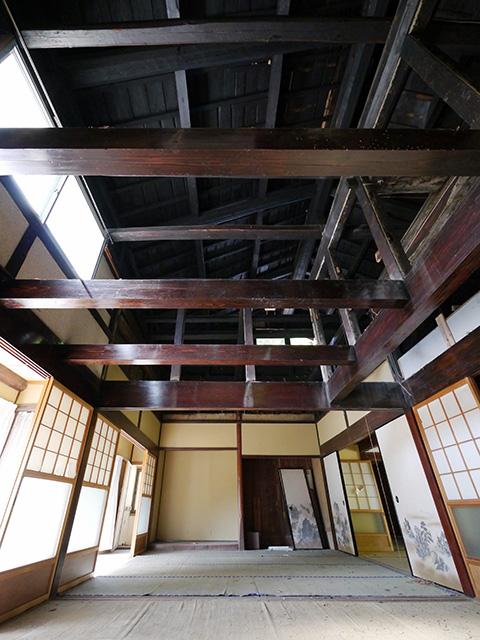 天井の梁1