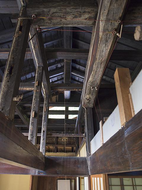 天井の梁2
