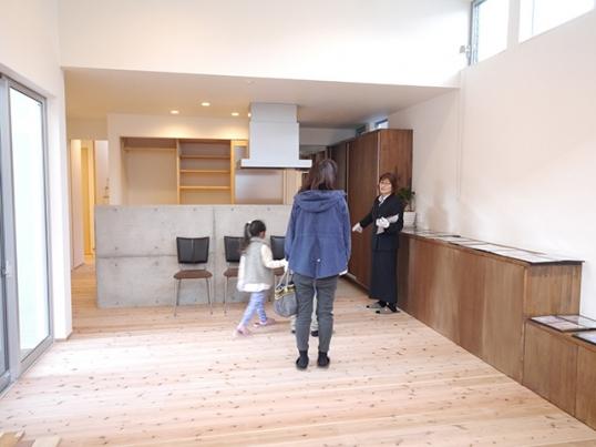 オープンハウス:「店舗(hair salon)付二世帯住宅」3