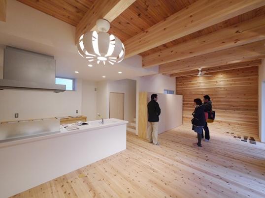 オープンハウス:「杉の壁を活かしたナチュラルモダンな家」を開催中