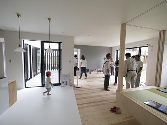 オープンハウス:「中庭をもつ平屋の家」3