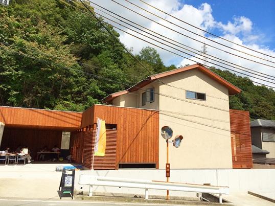 「丘陵地に建つ和風住宅」のオープンハウス1日目1