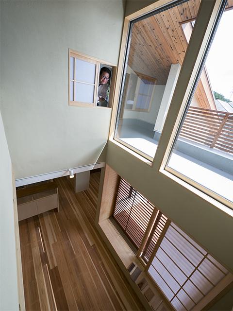 「丘陵地に建つ和風住宅」のオープンハウス1日目3