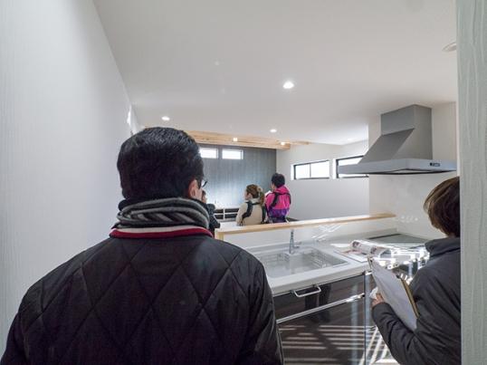 オープンハウス:「黒のガルバで覆われた片流れの家」を開催中!2