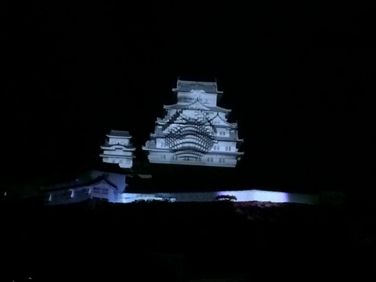 姫路城3Dプロジェクションマッピング4
