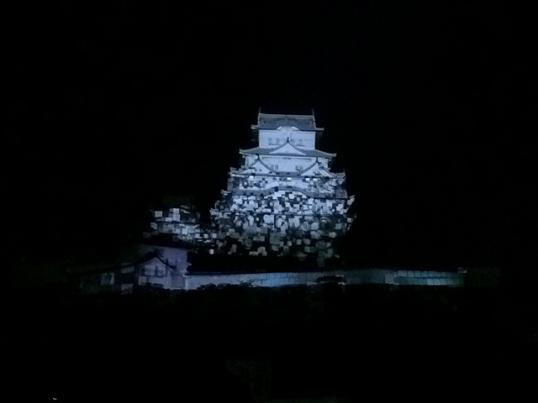 姫路城3Dプロジェクションマッピング5