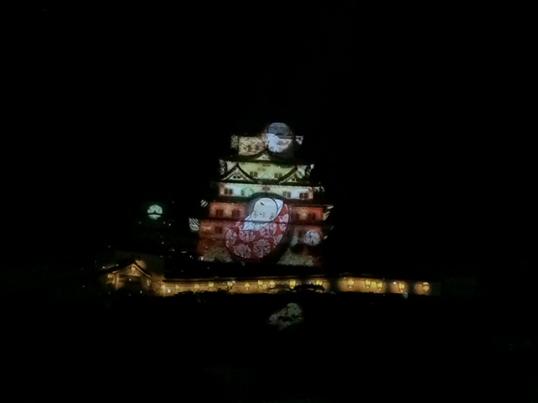 姫路城3Dプロジェクションマッピング6