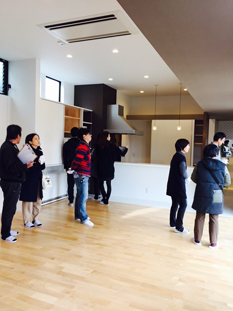 オープンハウス:「親世帯の北側の狭小空地を利用した子世帯住宅」3