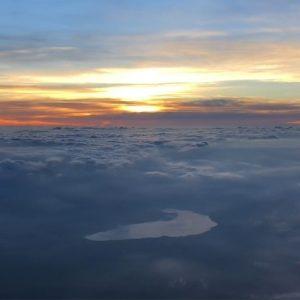 富士山からの御来光