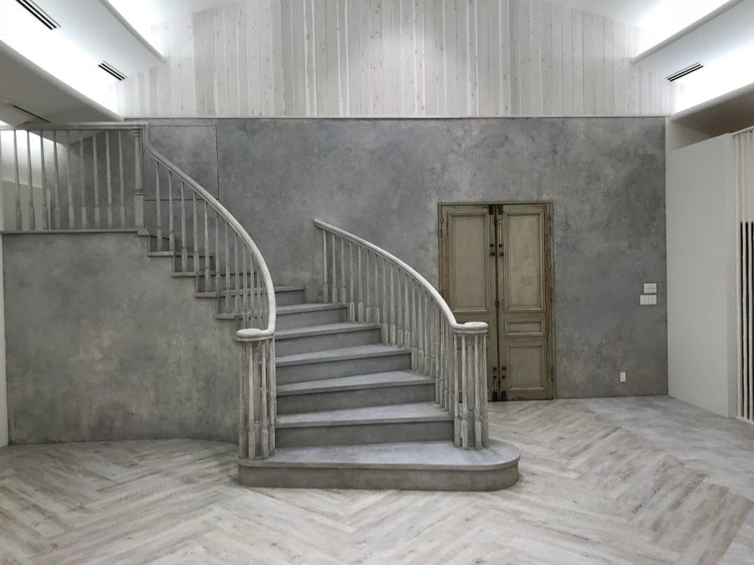 螺旋階段が完成3